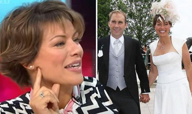 Kate Silverton, 50, 'thanked' now husband for waiting while she dated other men