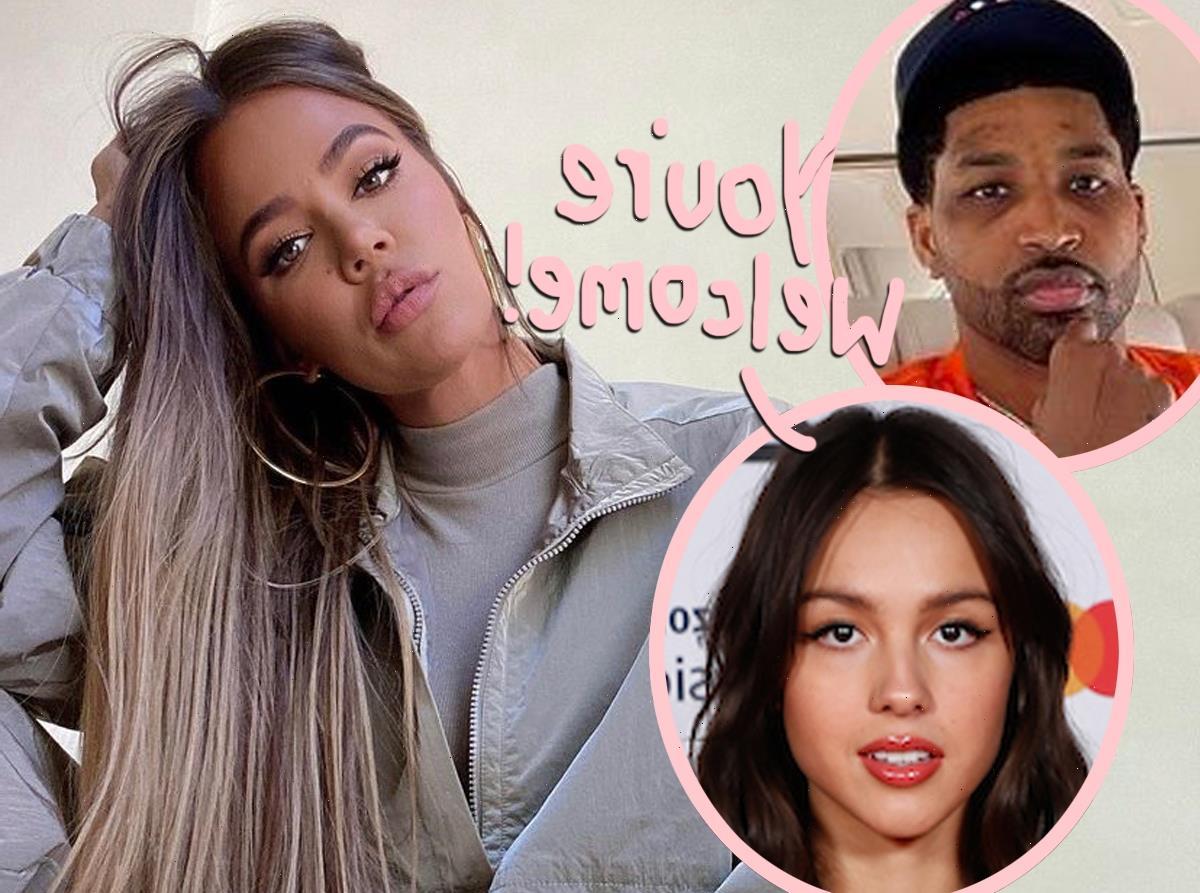 Khloé Kardashian Blasts Olivia Rodrigio's Breakup Album At The Gym Following Tristan Thompson Split!