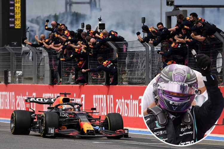Lewis Hamilton falls agonisingly short in French Grand Prix as Max Verstappen overtakes him just before final lap to win
