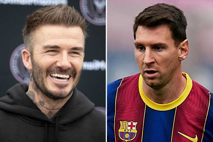 Lionel Messi's new Barcelona contract 'includes agreement to let him play for David Beckham's Inter Miami for two years'