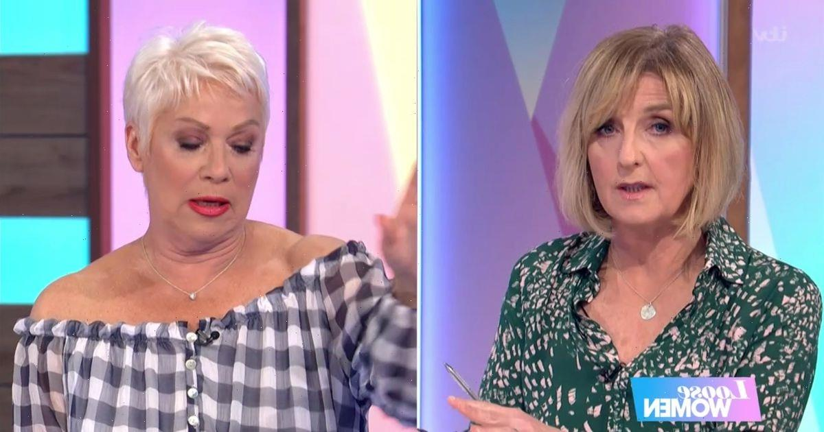 Loose Women's Denise Welch furiously clashes with Kaye McAdams over lockdown rules
