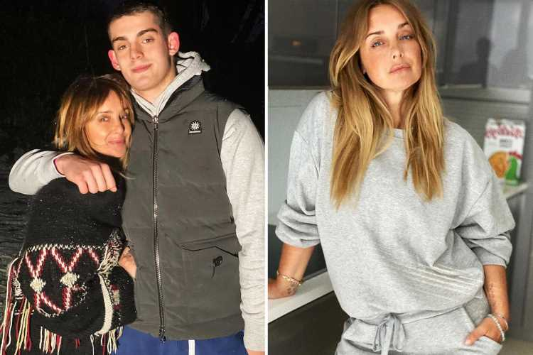 Louise Redknapp reveals she's 'so proud' of son Charley after ex Jamie's baby news