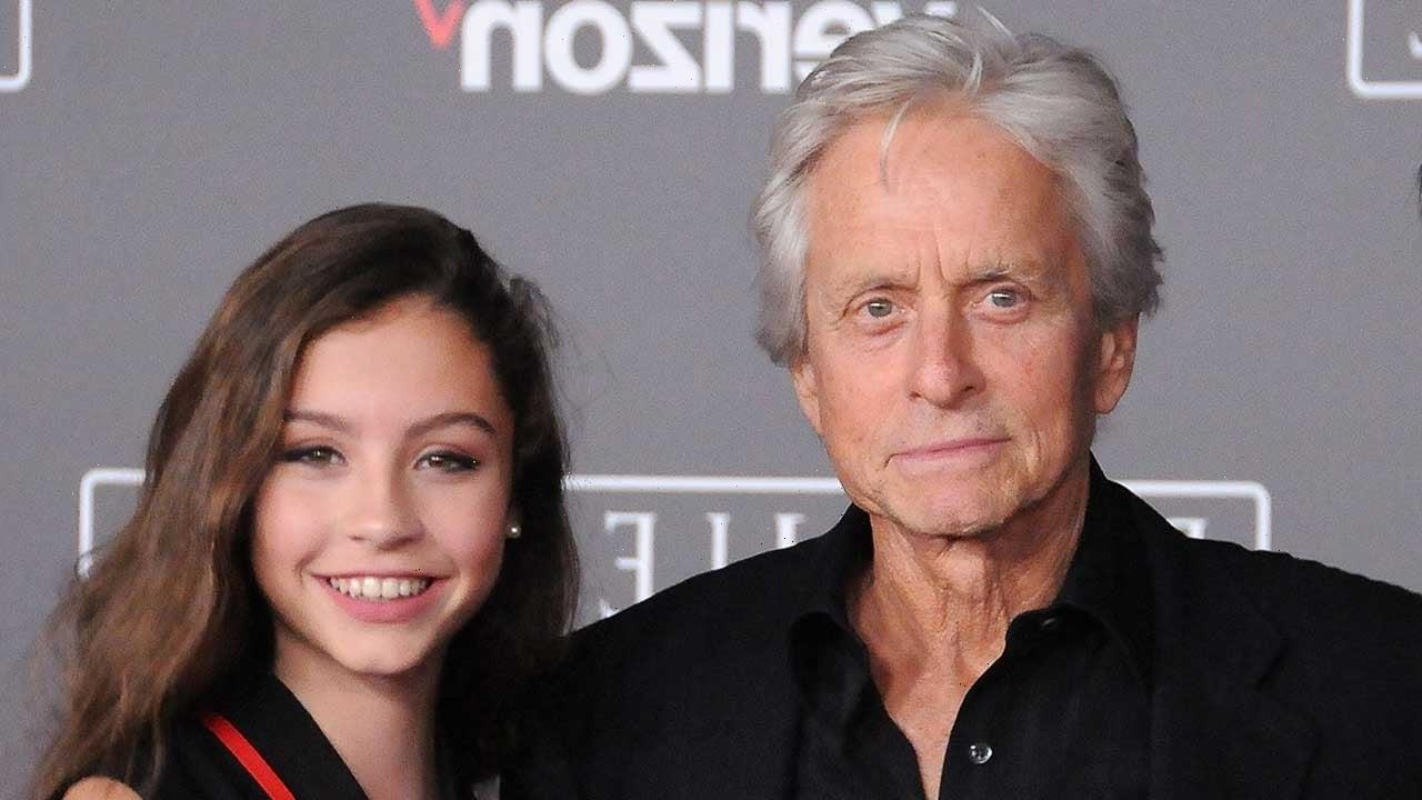 Michael Douglas Says He Was Mistaken for Being His Daughter's Grandpa