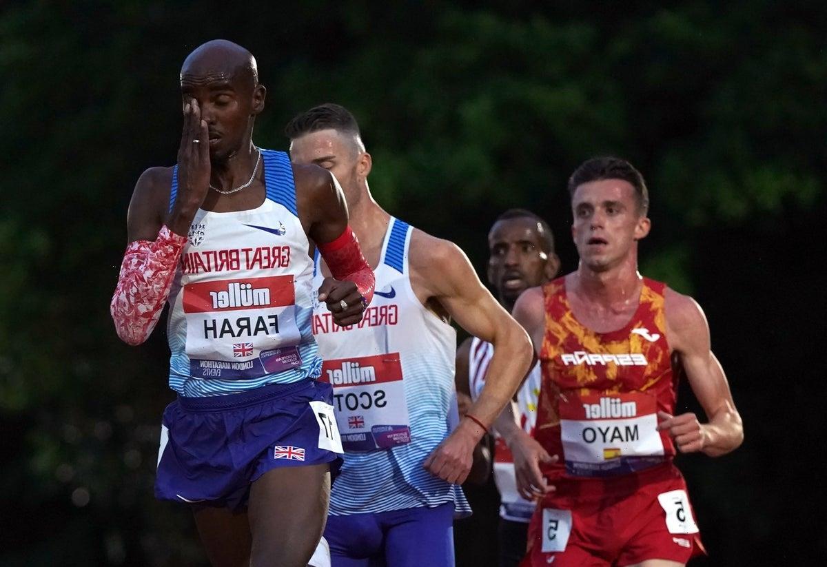 Mo Farah to make final bid for Olympic spot at British Athletics Championships