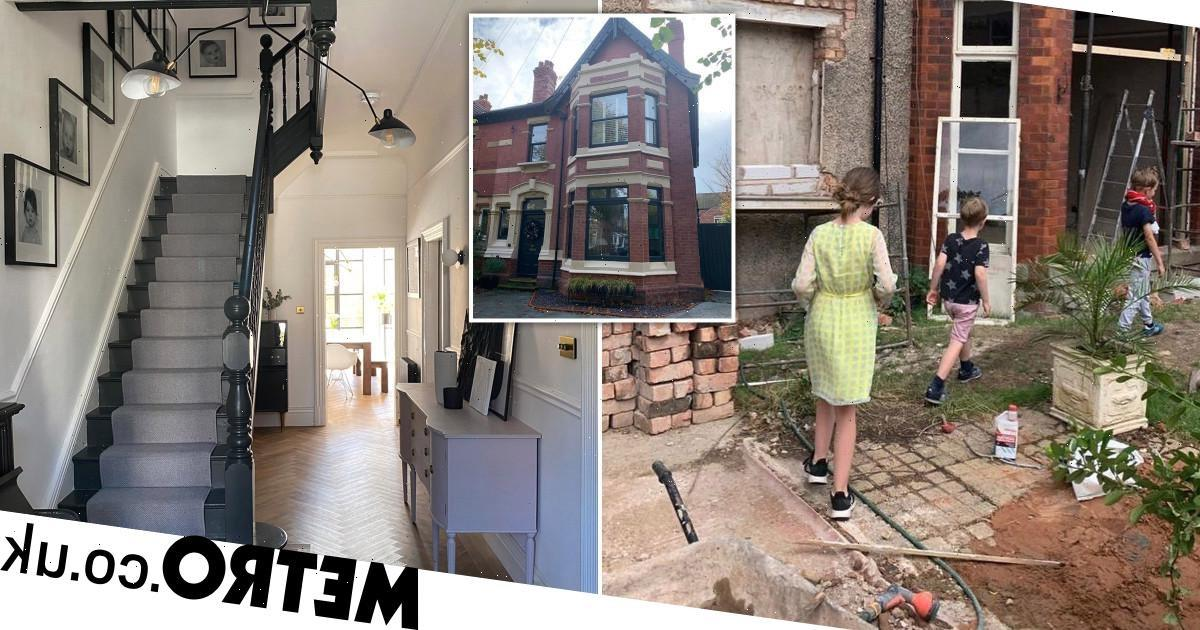 Mum transforms 'worst house on street' into stunning home worth £153k more