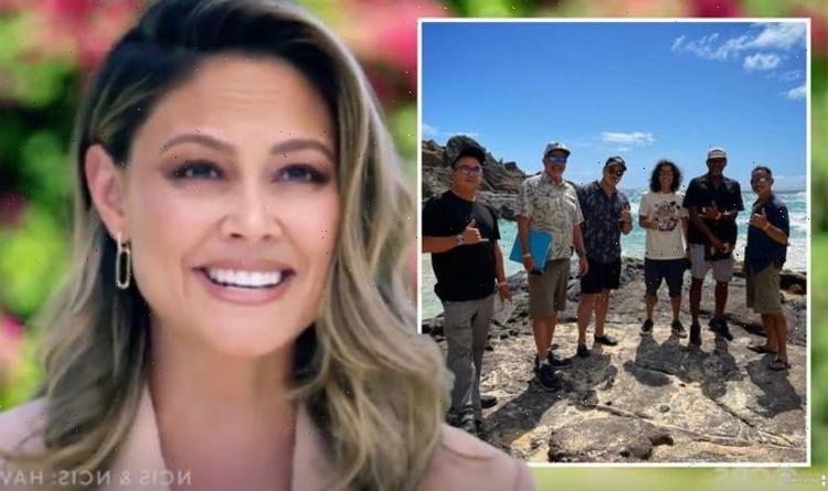 NCIS Hawaii director shares first-look at crew behind the scenes of CBS spin-off: 'Lucky'
