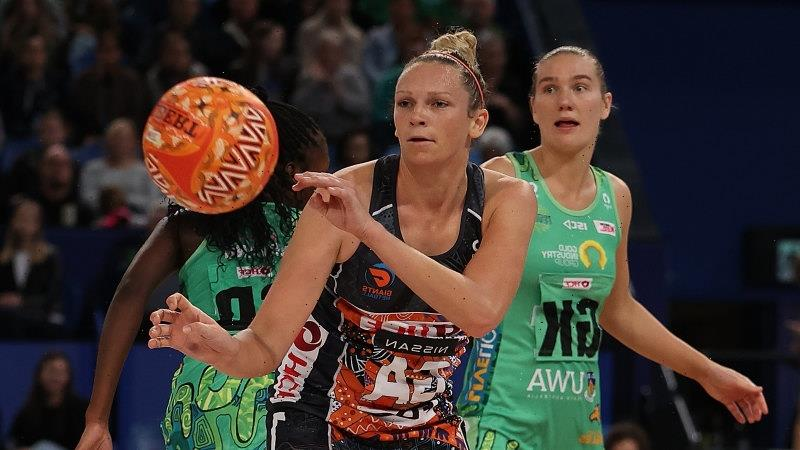 Netballers on fast track to parity with footballers on copping social media abuse