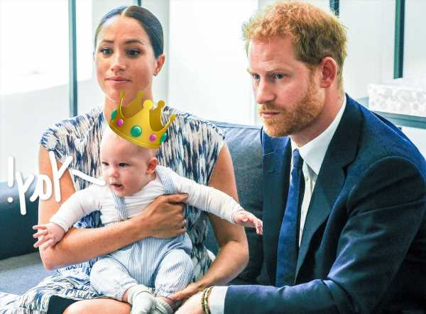 OMG! There Is Still A Chance Archie & Lilibet Could Become PRINCE AND PRINCESS!