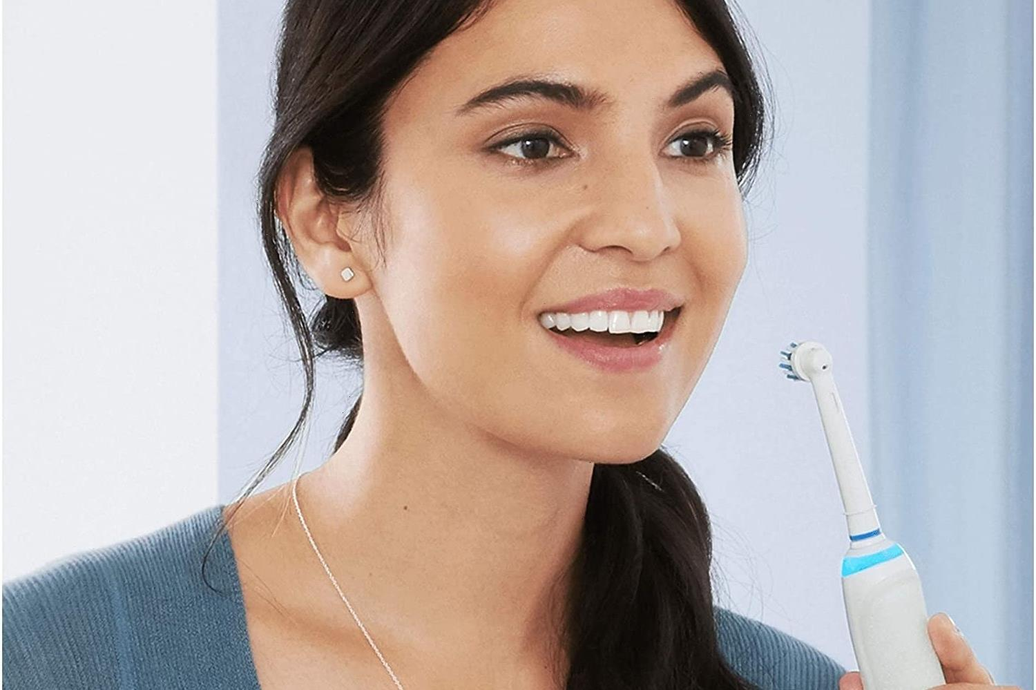 Oral-B Smart Electric Toothbrush reduced by £165 in HUGE Amazon Prime Day Deal