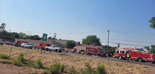 Pickup truck driver shot by cops after mowing down cyclists in Arizona race
