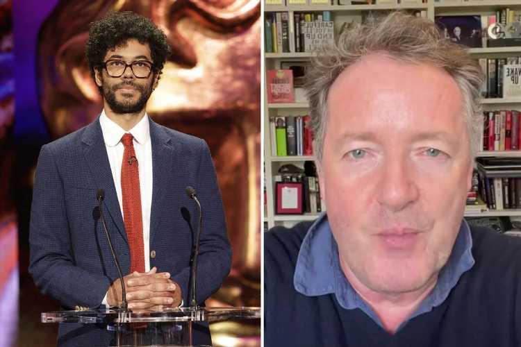 Piers Morgan slams Bafta 2021 awards as 'unwatchable' after viewers cringe over Richard Ayoade's gags
