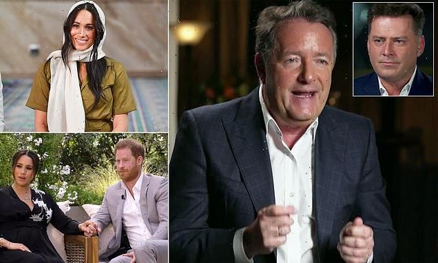 Piers Morgan unleashes on Meghan Markle in fiery 60 Minutes interview