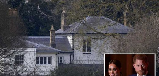 Prince Harry and Meghan Markle paid for £2.4m Frogmore Cottage refurb AND 18 months' rent after Megxit, accounts reveal