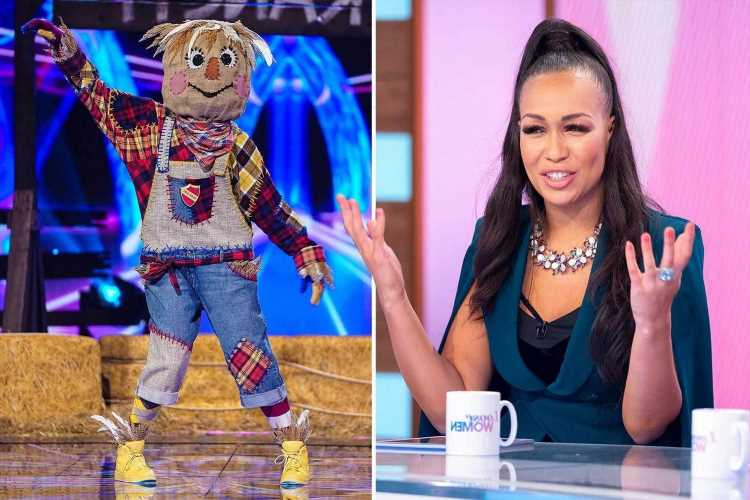 Rebecca Ferguson hints she's the Masked Dancer's Scarecrow with cryptic tweet