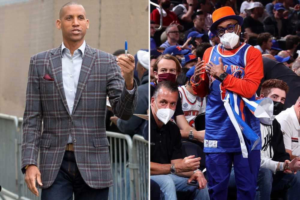 Reggie Miller trolls Spike Lee after he appears to leave Knicks' Game 5 loss early