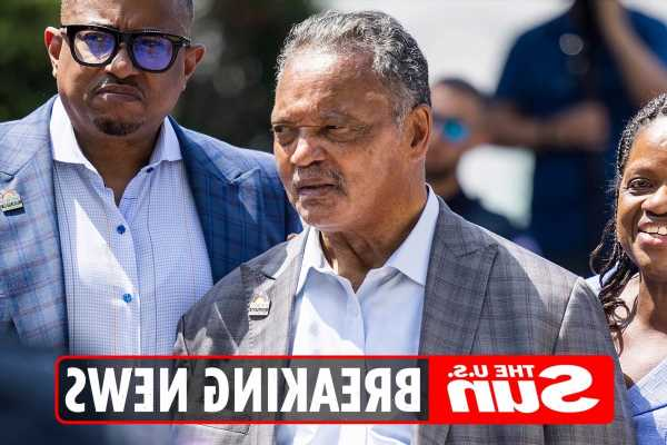 Rev. Jesse Jackson, 79, ARRESTED by Capitol Police at voting rights protest after vowing to 'fill up the jails'