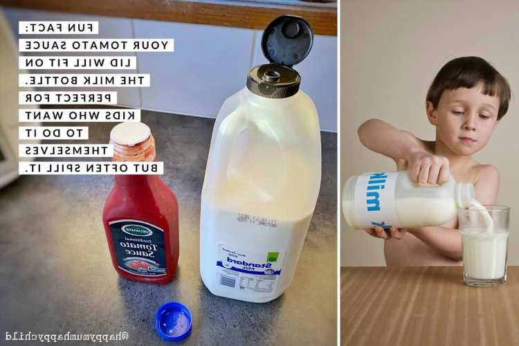 Savvy mum shares 'genius' hack which will stop your kids from spilling milk ever again & it's blowing people's minds