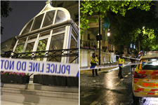 Scotland fan fighting for life after plunging to street from sixth-floor hotel room in London