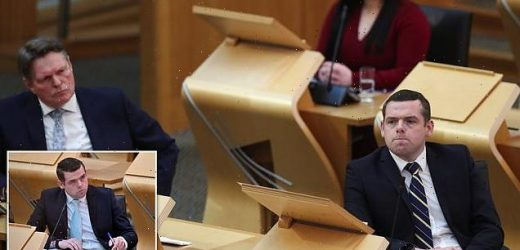 Scottish Tory leader Douglas Ross self-isolating after Covid contact