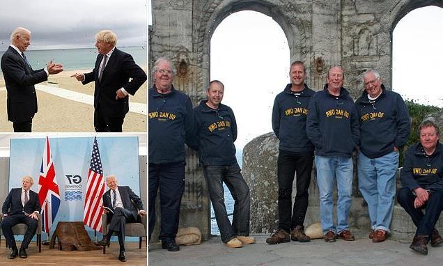 Sea shanty group who will serenade world leaders at G7 summit