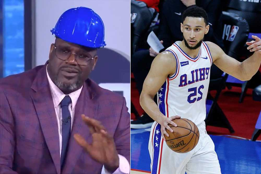 Shaq trashes Ben Simmons after 76ers failure: 'Would have knocked his ass out'