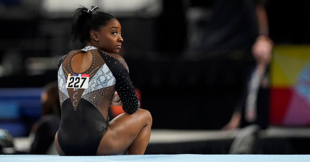 Simone Biles Makes Another U.S. Championship Look Easy