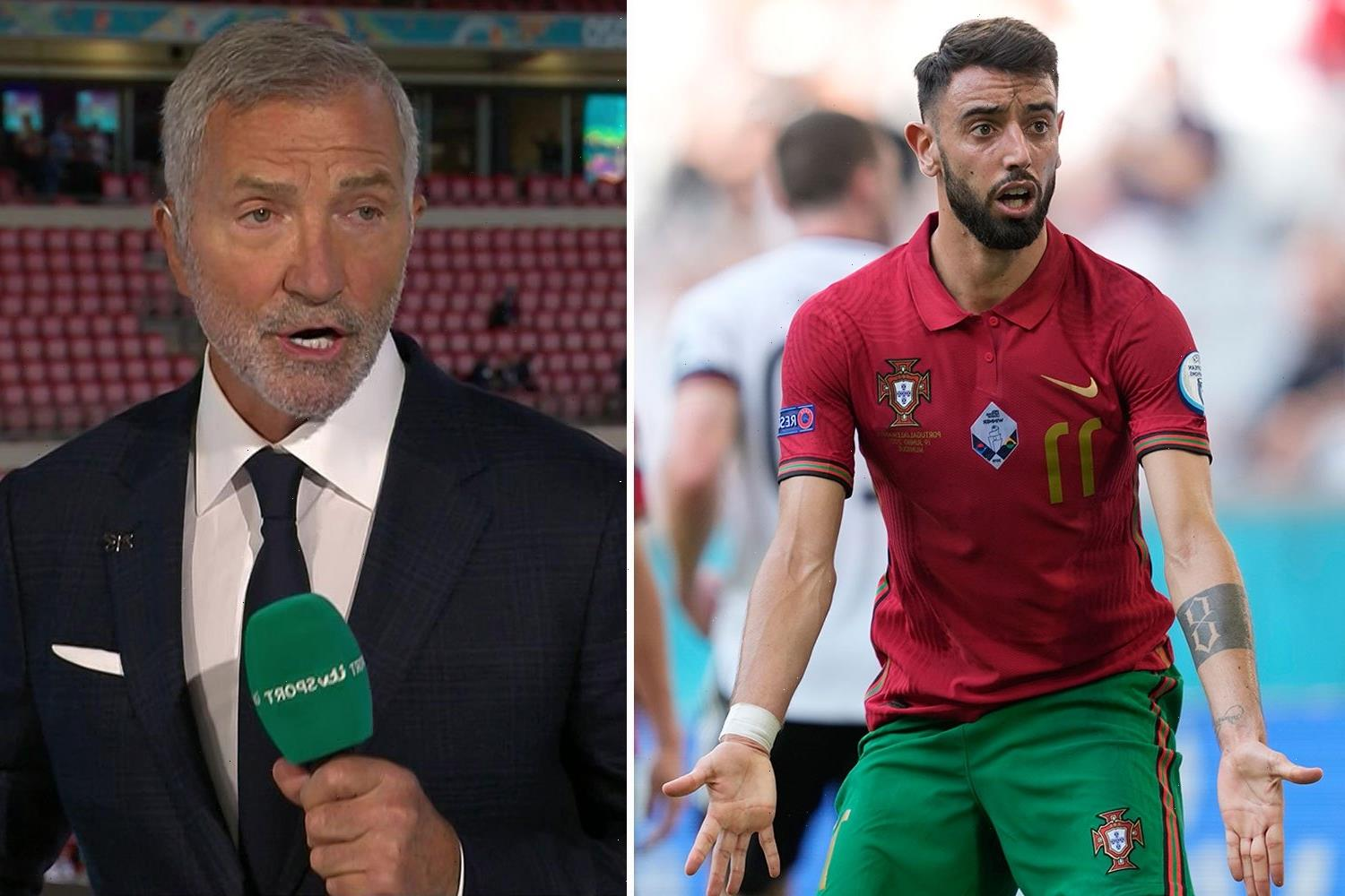 Souness says Bruno Fernandes 'would not have lasted five minutes in my dressing room' after Man Utd star's moaning