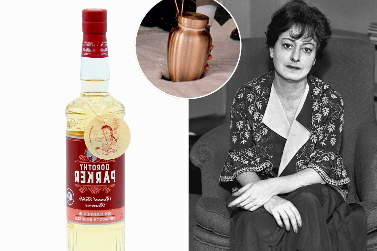 Special batch Dorothy Parker gin proceeds help pay for her headstone