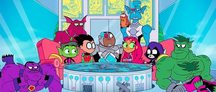 'Teen Titans GO! See Space Jam' Trailer: DC's Young Superheroes Provide Commentary on the 1996 Hit