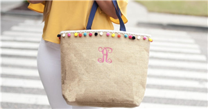 These 15 Pom-Pom Beach Bags Are Playful, Practical and Stylish