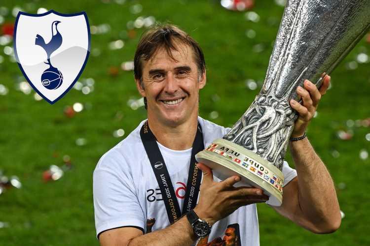 Tottenham rejected by Julen Lopetegui despite making 'dizzying' offer for Spanish manager, reveals Sevilla president