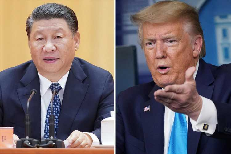 Trump orders China to pay 'ten trillion dollars to US' over Covid crisis and blasts Fauci's 'foolish' funding of lab
