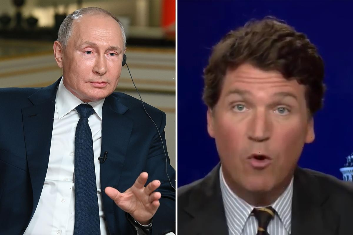 Tucker Carlson BACKS Putin's 'fair questions' over Capitol riot & claims US is becoming authoritarian regime under Biden