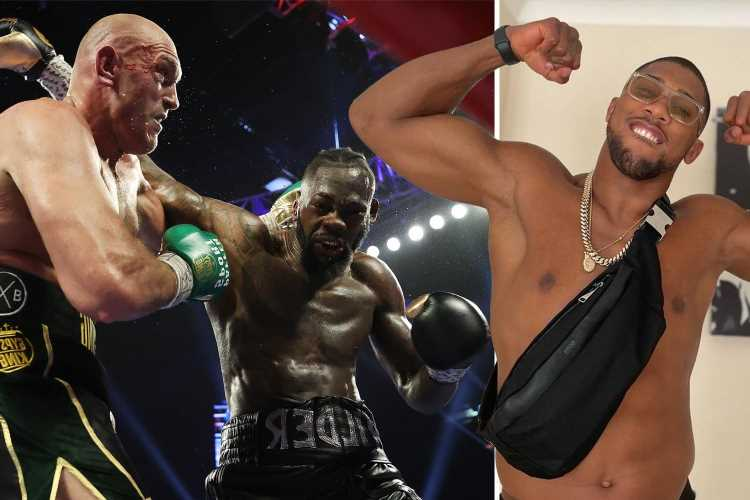 Tyson Fury predicts 'most dangerous heavyweight in the world' Deontay Wilder will KO Anthony Joshua 'in the first round'