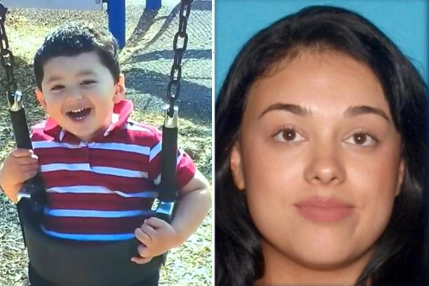 Wanted mom Samantha Moreno Rodriguez arrested after son Liam Husted, 7, found dead on hiking trail near Las Vegas