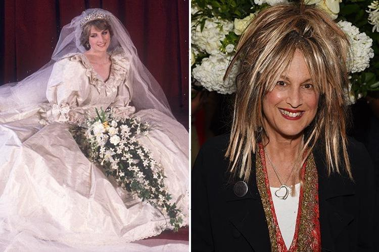 Who are David and Elizabeth Emanuel? Princess Diana's wedding dress designers who created the silk taffeta Royal Wedding gown