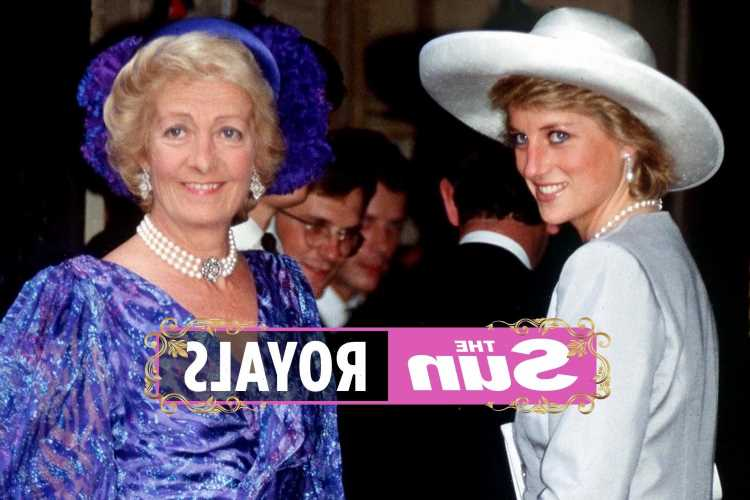Who was Princess Diana's mother Frances Shand Kydd?