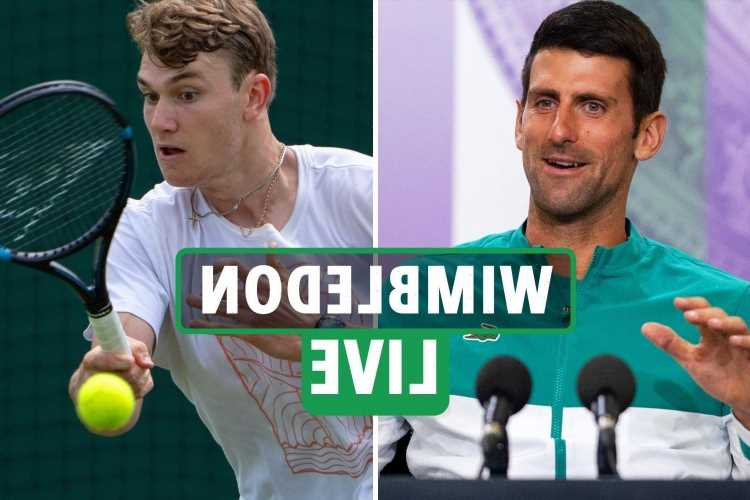 Wimbledon 2021 LIVE RESULTS: Djokovic BROKEN by Brit Draper in stunning start – TV channel, stream FREE, start times