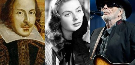 16 Famous People Who Died on Their Birthday, From Shakespeare to Ingrid Bergman (Photos)