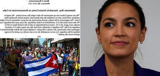 AOC finally breaks her silence on Cuba unrest and blames US embargoes
