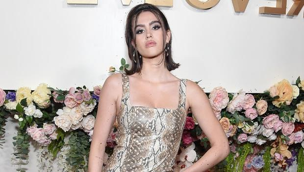 Amelia Hamlin, 20, Wears Just Lilac Pants & Nothing Else As She Jokes Her Top Is 'M.I.A.' — See Pics
