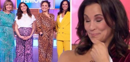 Andrea McClean initially turned down Loose Women role 'The job with lots of shouty ladies'