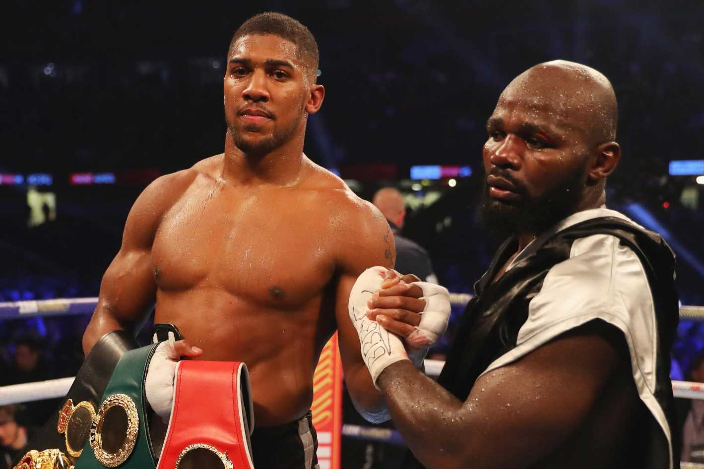 Anthony Joshua called out by Carlos Takam, who says 'there is unfinished business' after 2017 loss which 'still hurts'