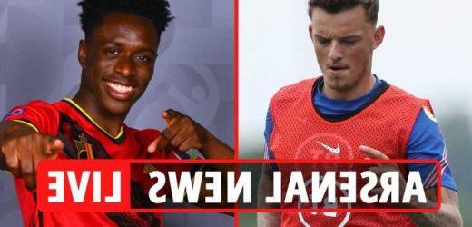 Arsenal transfer news LIVE: Ben White £50m exclusive LATEST, Sambi Lokonga UPDATES, Reiss Nelson to Brighton