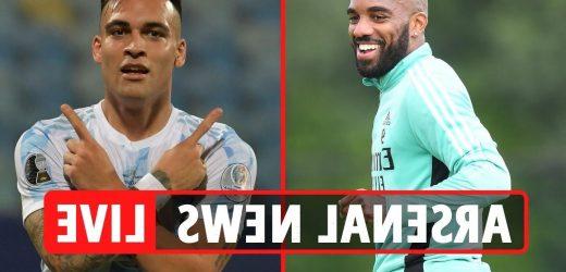 Arsenal transfer news LIVE: Lautaro Martinez approach, Lacazette £15m Atletico Madrid bid, Zakaria wanted