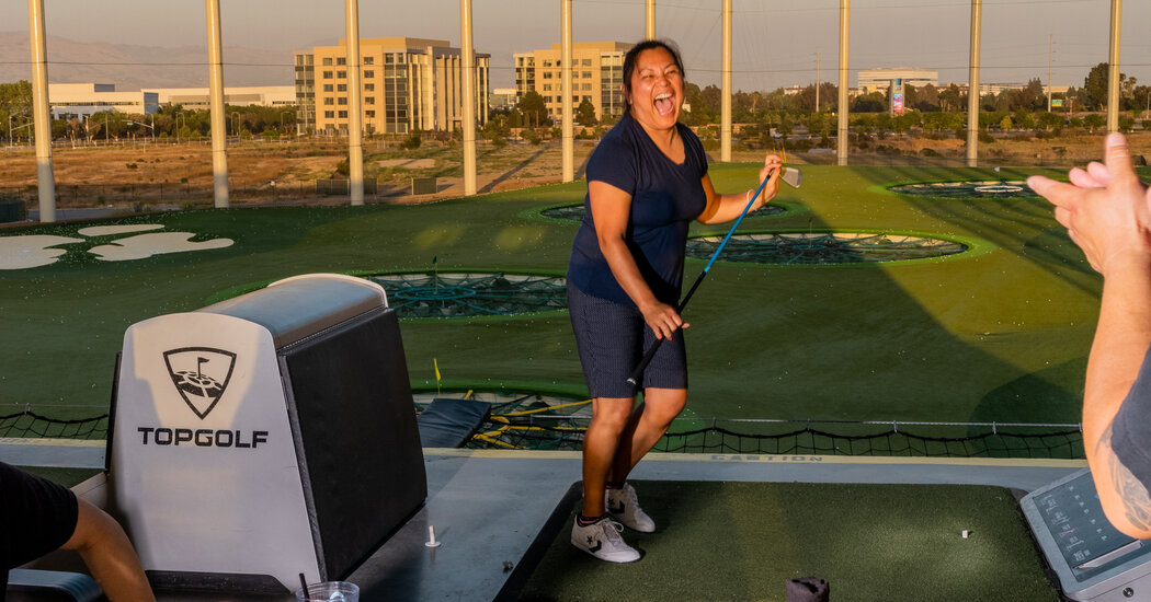 Bare Feet, Beer and Heavy Metal Bangers: Golf Chills Out and Gets Cool.