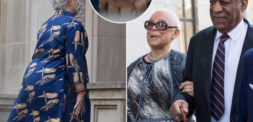 Bill Cosby's wife, Camille Cosby, spotted in NYC without wedding ring