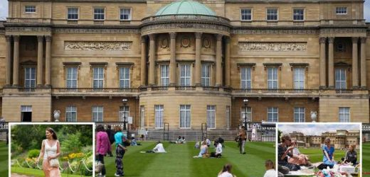 Buckingham Palace to open for picnics and self-guided tours for the first time with Brits able to visit stunning gardens