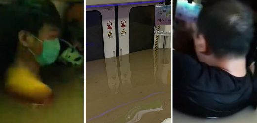 China subway flood survivors texted WILLS to loved ones and said last goodbyes as water rose neck deep and air ran out