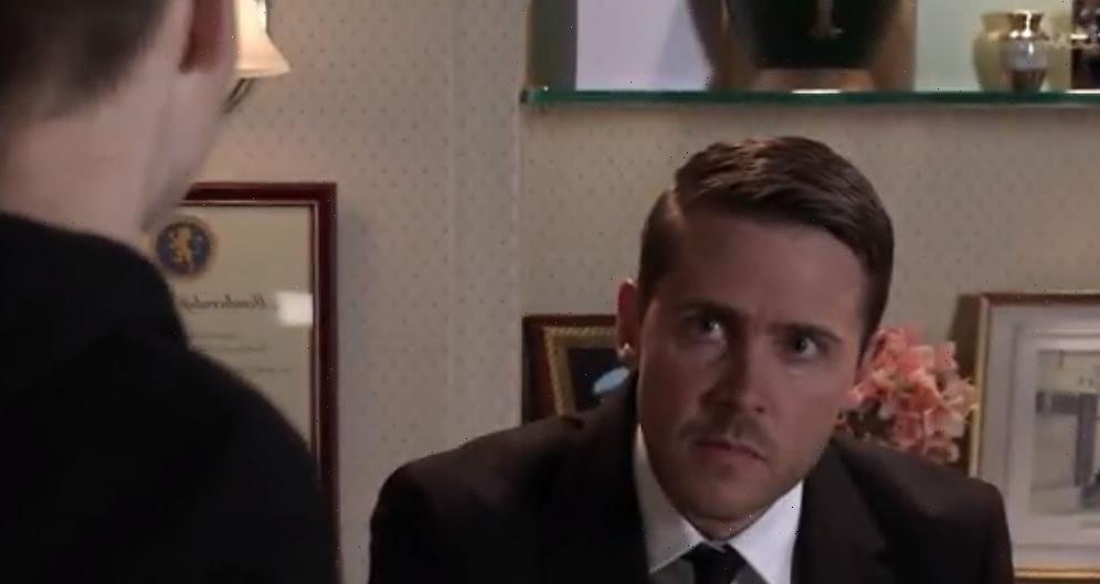 Coronation Street's Todd Grimshaw's downfall revealed as blackmailer Will outsmarts him